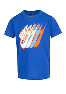 Nike® Toddler Boys Futura Repeat Cotton Short Sleeve Tee