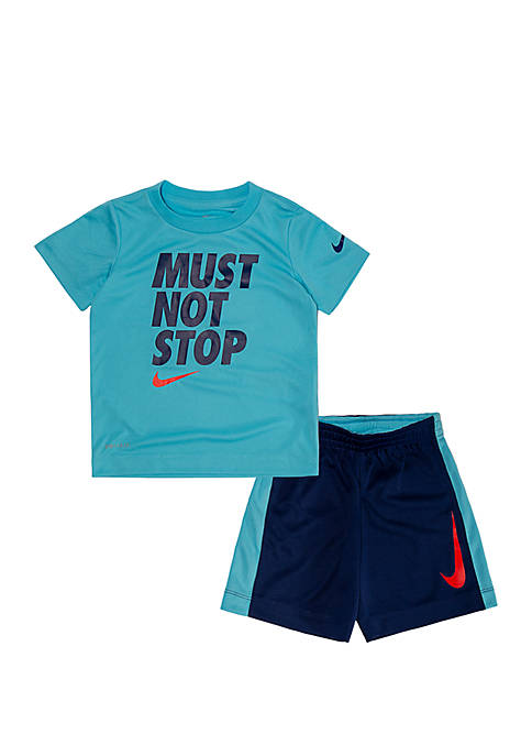 Nike® Toddler Boys Dri Fit Must Not Stop