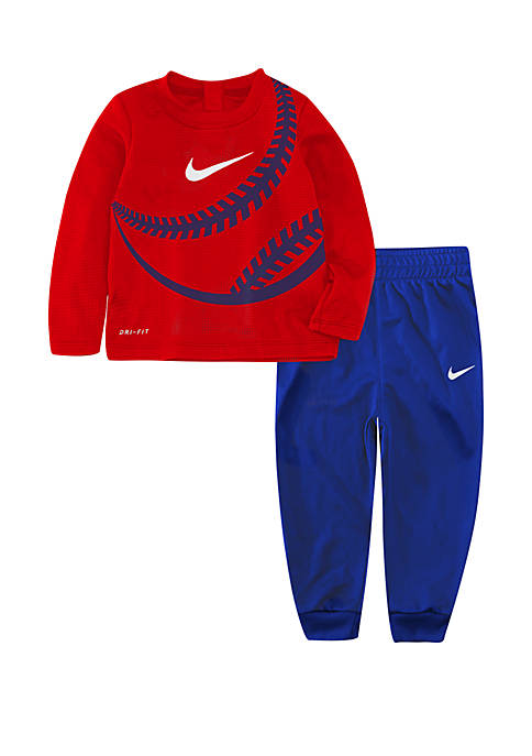 Nike® Toddler Boys Long Sleeve Thermal Top and