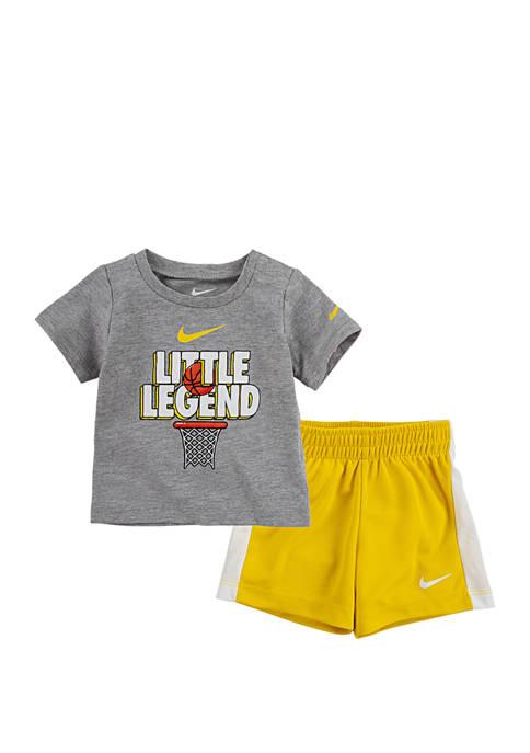 Toddler Boys Little Legend Shorts Set
