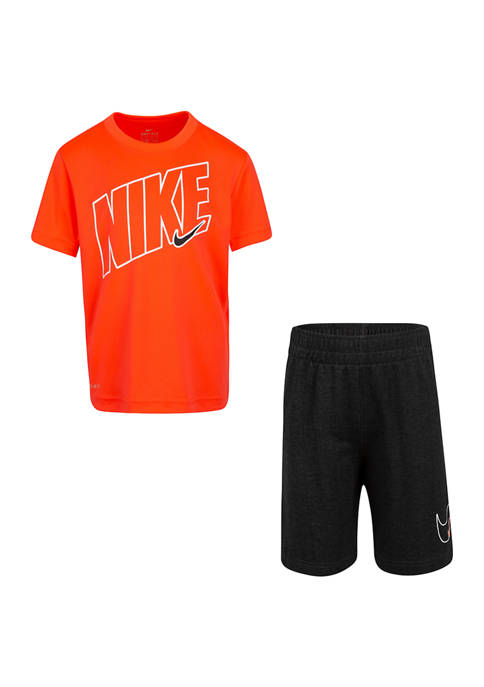Toddler Boys Comfort Dri Fit Shorts Set