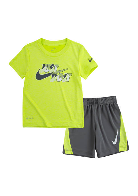 Toddler Boys Just Do It Graphic Set