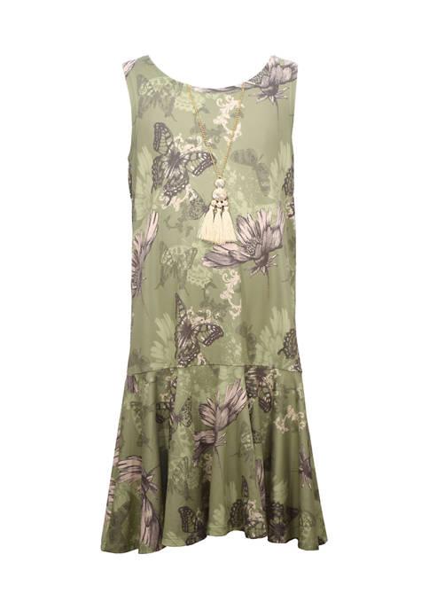Bonnie Jean Girls 4-6x Sleeveless Knit Dress with