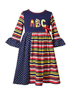 b2f8f253df09 Bonnie Jean Toddler Girls School Dress ...