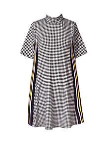 Bonnie Jean Toddler Girls Mock Neck Tapered Dress