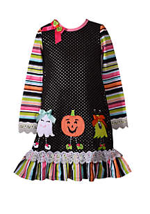 Bonnie Jean Girls 4-6x Halloween Friends Dress