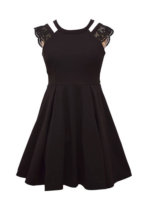 Bonnie Jean Girls 7-16 Scuba Dress