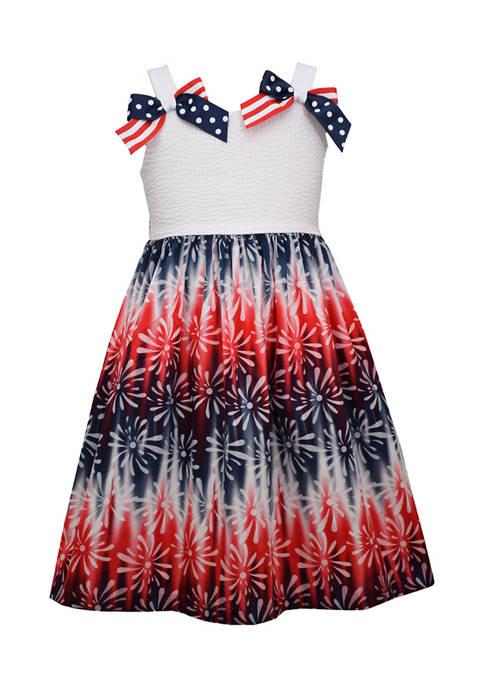 Bonnie Jean Girls 4-6x Firework Dress