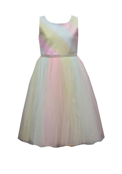 Bonnie Jean Girls 4-6x Sleeveless Party Dress