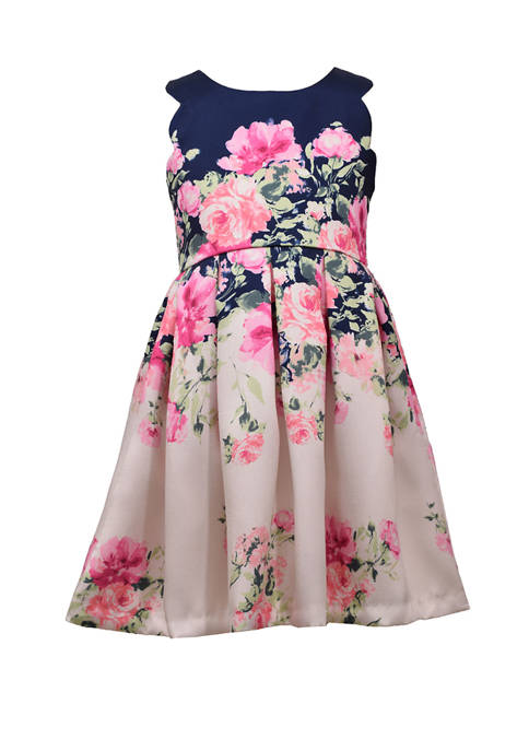 Bonnie Jean Girls 4-6x Sleeveless Floral Dress