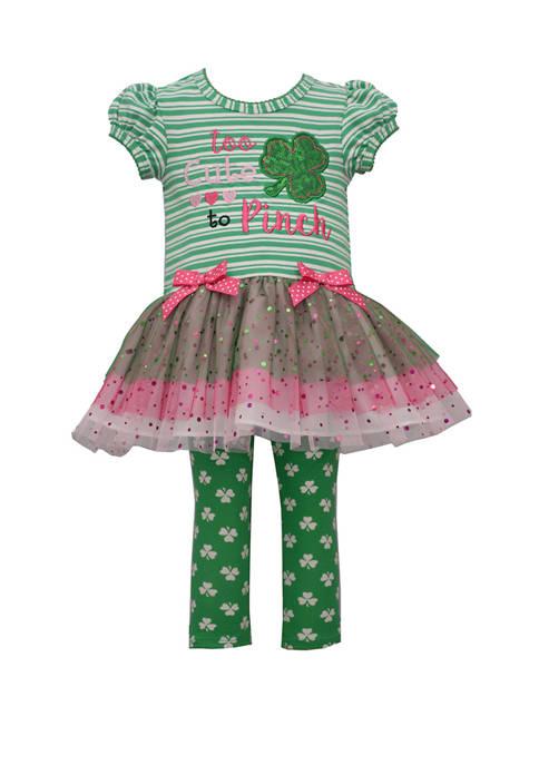 Bonnie Jean Girls 4-6x St. Patricks Day Leggings
