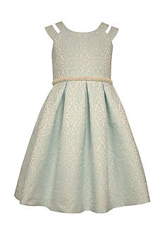Bonnie Jean Jacquard Dress Girls 7-16 Plus