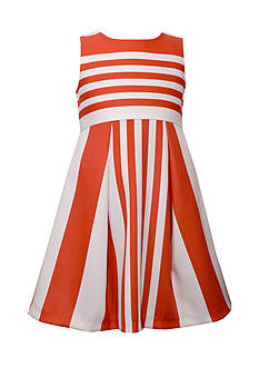 Bonnie Jean Striped Dress Girls 7-16 Plus