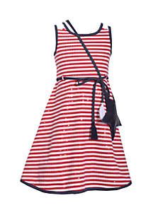 Star Spangled Dress Girls 4-6x