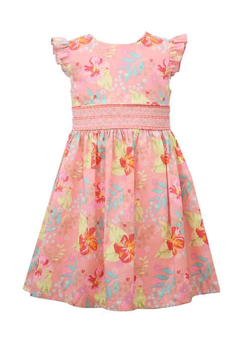 Bonnie Jean Girls 4-6x Floral Dress