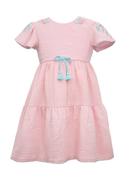 Bonnie Jean Girls 4-6x Seersucker Dress