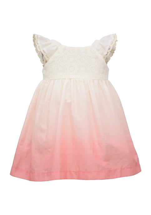 Bonnie Jean Girls 4-6x Dip Dye Dress