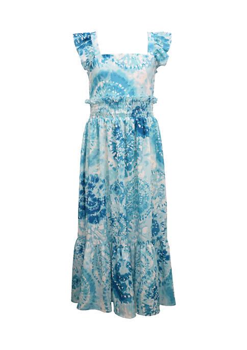 Bonnie Jean Girls 4-6x Tie Dye Maxi Dress