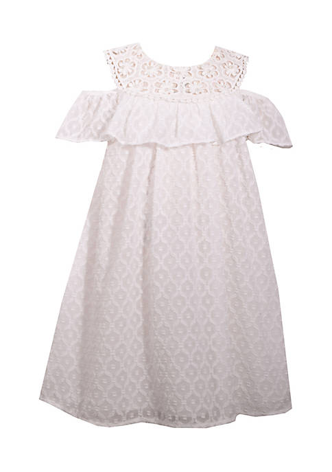 Bonnie Jean Clip Dot Dress Girls 7-16