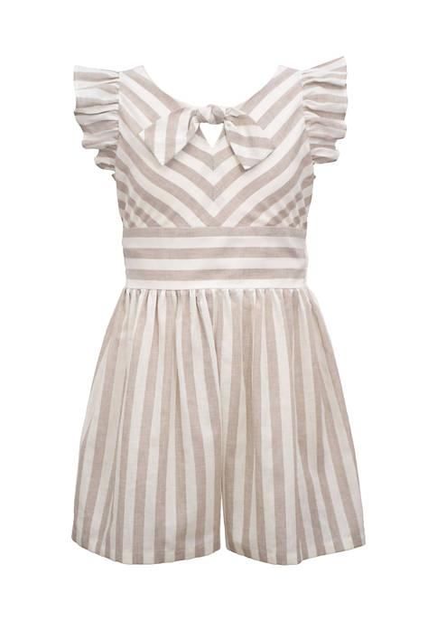 Bonnie Jean Girls 7-16 Striped Dress