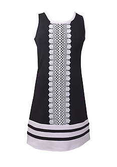 Bonnie Jean Crochet Panel Dress Girls 7-16
