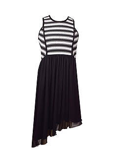 Bonnie Jean Novelty Knit Dress Girls 7-16 Plus
