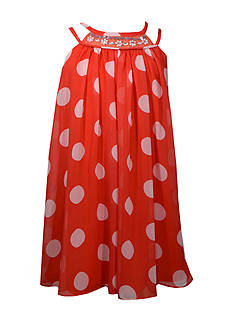 Bonnie Jean Polka Dot Dress Girls 7-16 Plus
