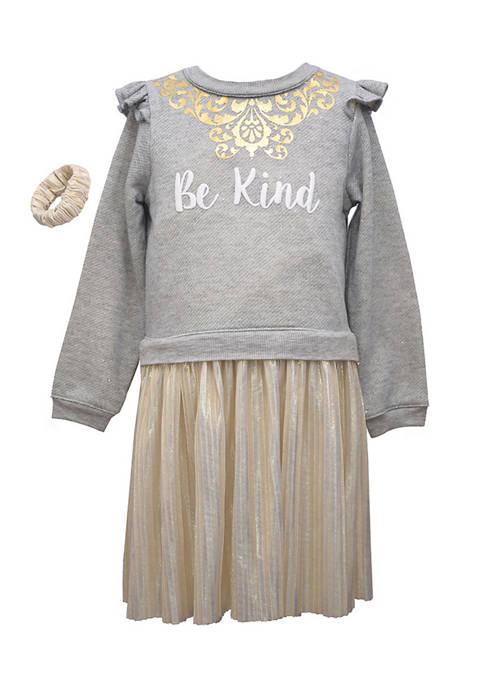 Bonnie Jean Girls 4-6x Be Kind Dress