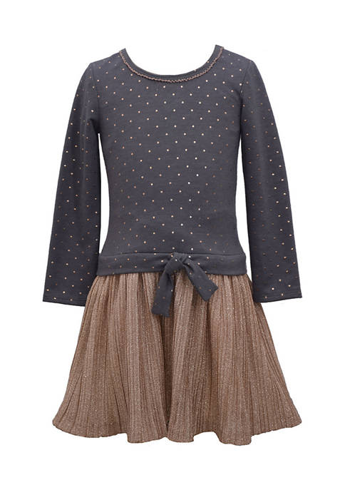 Bonnie Jean Girls 4-6x Foil Dot Dress