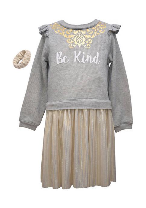 Bonnie Jean Girls 7-16 Be Kind Dress