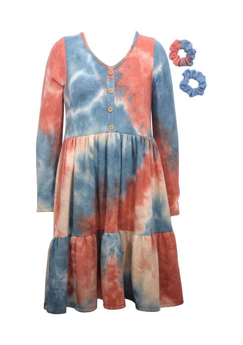 Bonnie Jean Girls 7-16 Tie Dye Tier Dress
