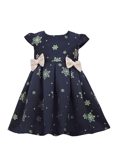 Girls 4-6x Snowflake Dress