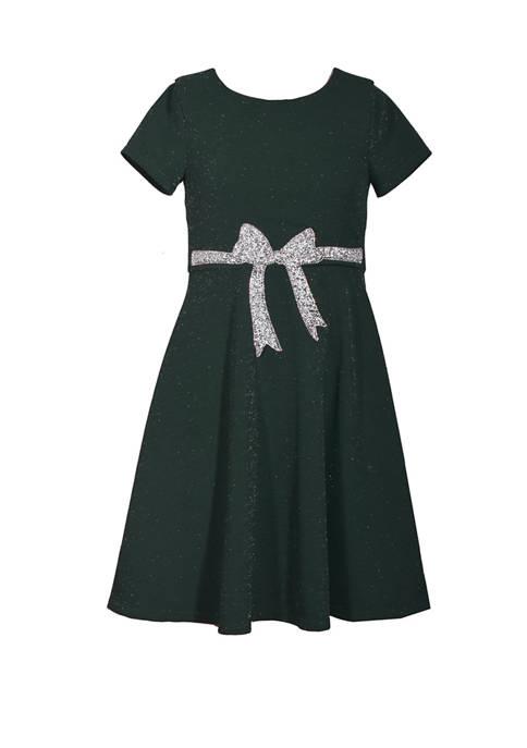 Bonnie Jean Girls 4-6x Velvet Dress