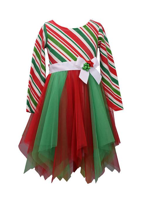 Bonnie Jean Girl 7-16 Hanky Hem Dress
