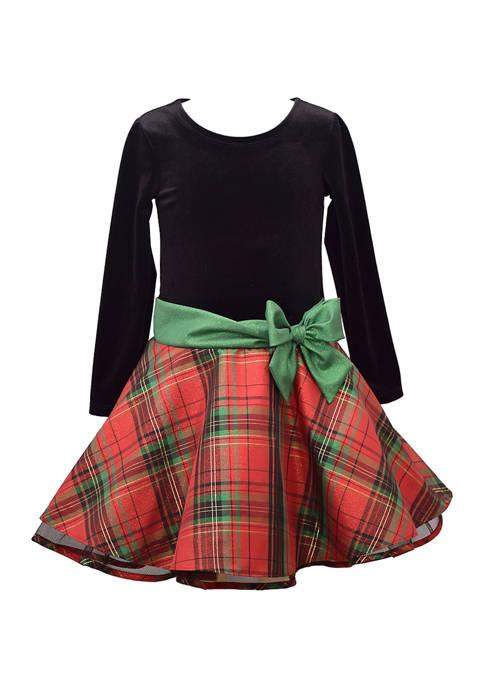 Bonnie Jean Girls 7-16 Drop Waist Dress