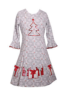 Girls 7-16 Present Dress
