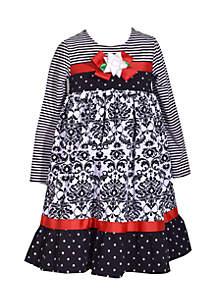 Girls 7-16 Print Dress