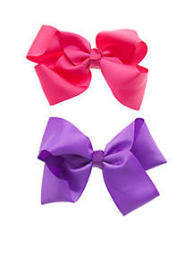 Toddler Girls Classic Bow Set