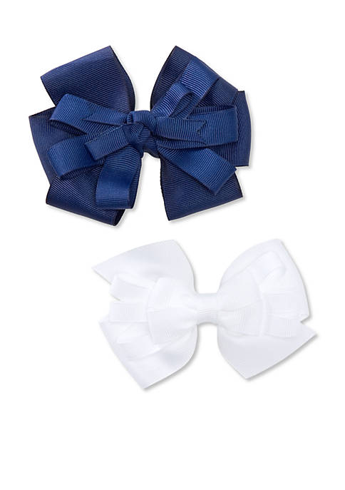 Riviera 2-Pack Grosgrain Bow