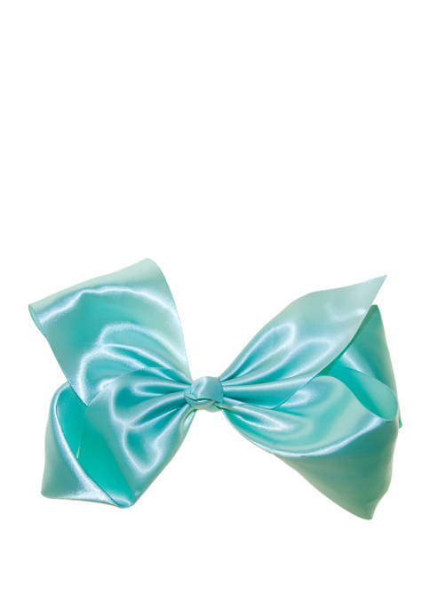 Toddler Girls Jumbo Satin Bow