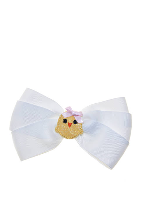 Riviera Girls Big Bow with Salon Clip