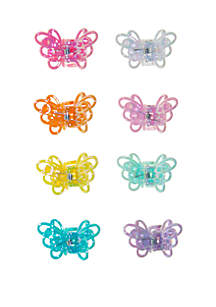 Riviera Butterfly Hair Clips