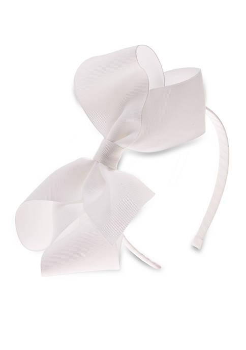 Large Grosgrain Bow Headband