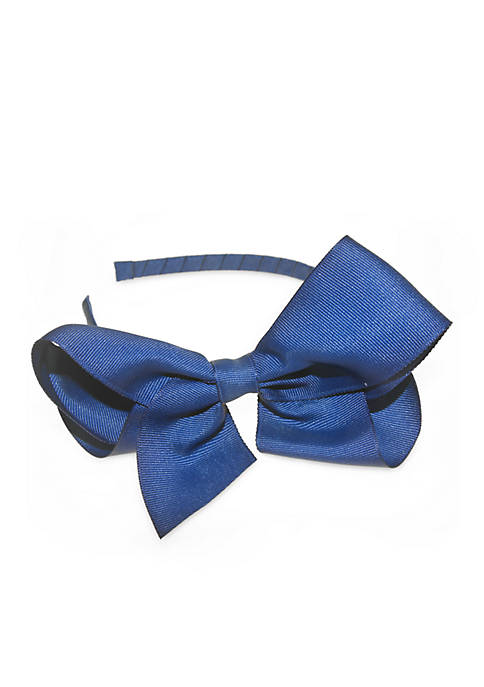 Large Grosgrain Bow Headband