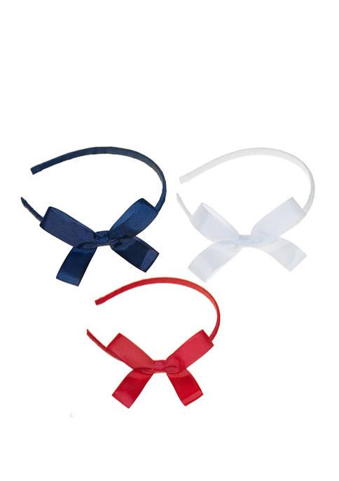 Girls Trio Headband Set
