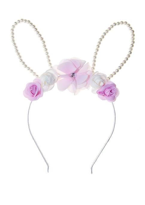 Riviera Girls Pearl Rabbit Ear Headband