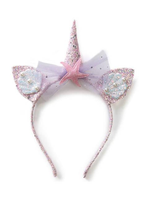 Girls Mermaid Unicorn Headband