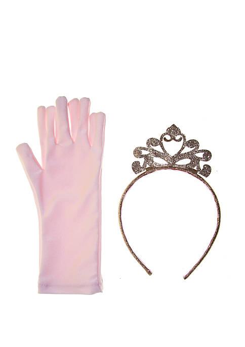 Riviera Princess Crown and Gloves Set