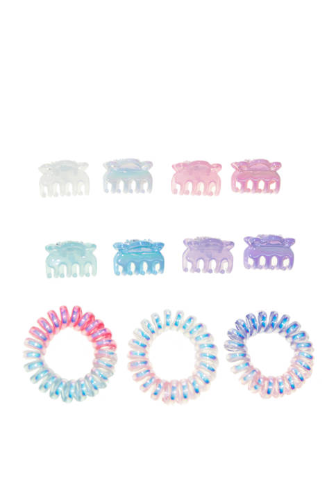 Girls Clips and Coils Set