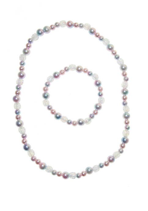 Riviera Girls Pastel Necklace Set